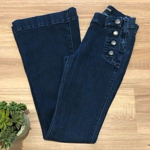 Express Jeans Sailor Bell Flares